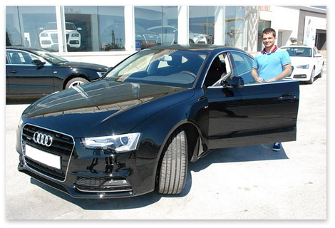 Me and my new Audi A5